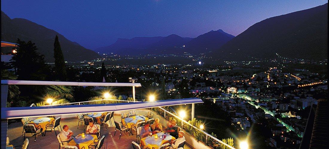Das ideal gelegene Panoramahotel bei Meran