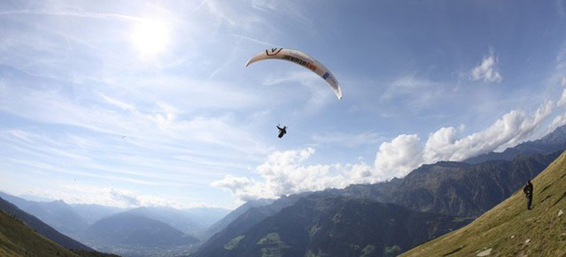 Paragliding – boundless freedom on a paraglider
