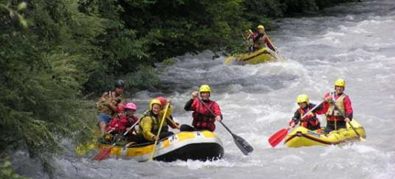 Rafting - go down the Passer river on a raft