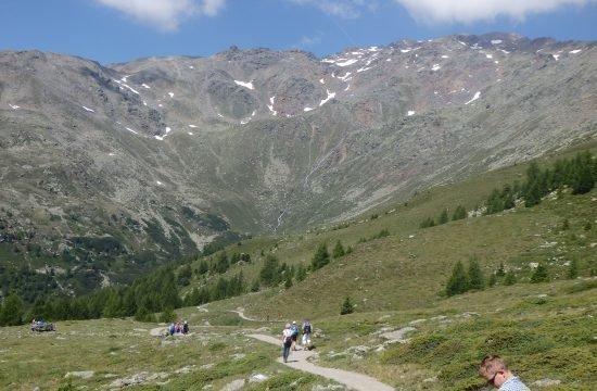 Wanderung im urigen Ultental Juli 2019