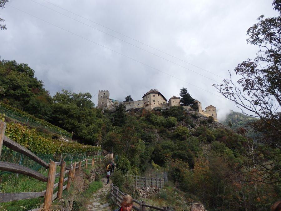 Stabner Waalweg e Castel Juval ottobre 2020