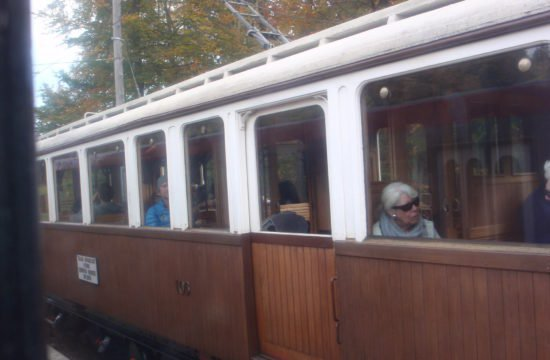 Panoramawanderung auf dem Ritten mit Tram-Fahrt Oktober 2018