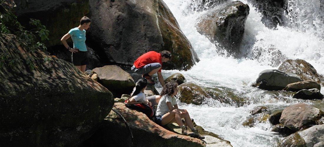 Fragsburg & Partschins waterfalls